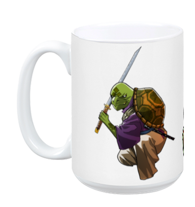 Edible Fighter - Master Penyu Mug