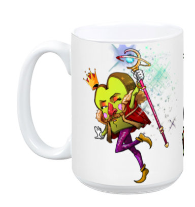 Edible Fighter - King Gruyère XVIII Mug