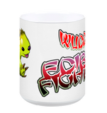 Edible Fighter - Wuddly Mug