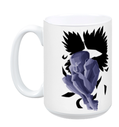 Distraught Angel Mug