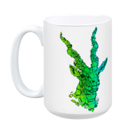 Green Blackbuck Mug