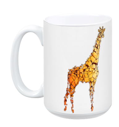 Yellow Giraffe Mug