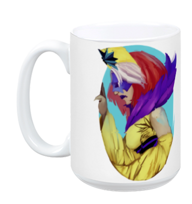 Queen in Yellow Mug