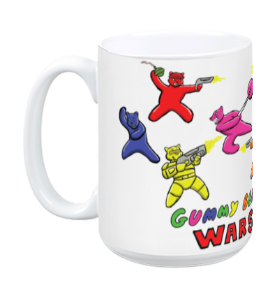 Gummy Bear Wars Mug