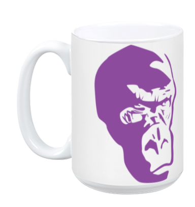 Purple Gorilla Mug