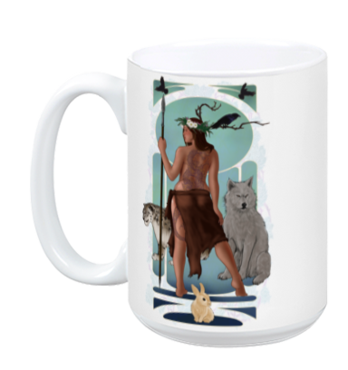 The Huntress Mug