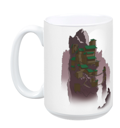 Abandoned Tower Mug