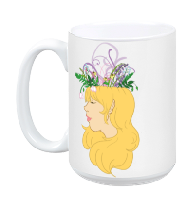 Flower Crown Mug