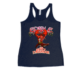 Edible Fighter - The Mighty Thermidor Racerback Tank Top