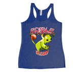 Edible Fighter - Wuddly Racerback Tank Top