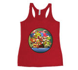 An Edible Christmas Racerback Tank Top