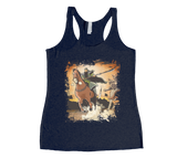 Conquest of the Three Kingdoms: Guan Yu Racerback Tank Top