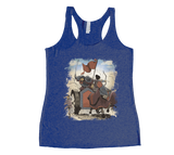 Conquest of the Three Kingdoms: Yan Liang Racerback Tank Top