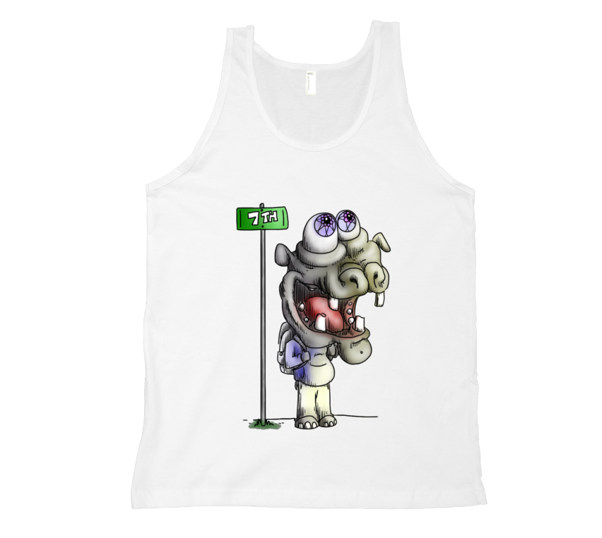 Hippo Does New York Tank Top