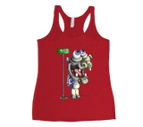Hippo Does New York Racerback Tank Top