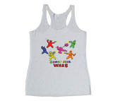 Gummy Bear Wars Racerback Tank Top