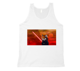 Red Panda, Black Shadow Tank Top