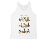 Dogs - Shapes and Sizes Tank Top