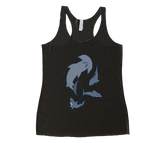 Shark Party Racerback Tank Top