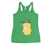 Flower Crown Racerback Tank Top
