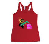 Spunky Stage Monkey Racerback Tank Top