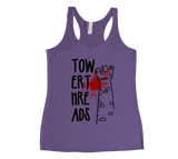 Tower Threads Racerback Tank Top - Black