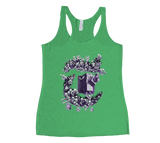 Zombies in T Racerback Tank Top