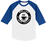 GODSON - Chilled Coffee (B/W) Baseball Tee