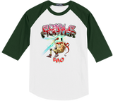 Edible Fighter - Pao Baseball Tee