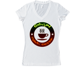 GODSON - Chilled Coffee (Color) Women's V-Neck