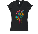 Majesty Key Women's V-Neck