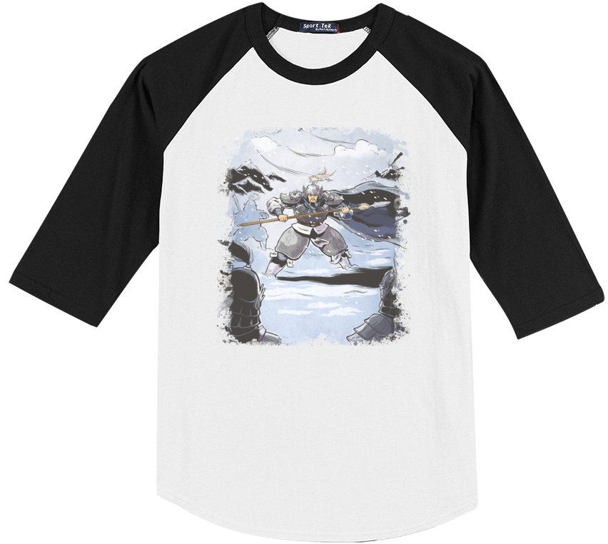 Conquest of the Three Kingdoms: Zhao Yun Baseball Tee