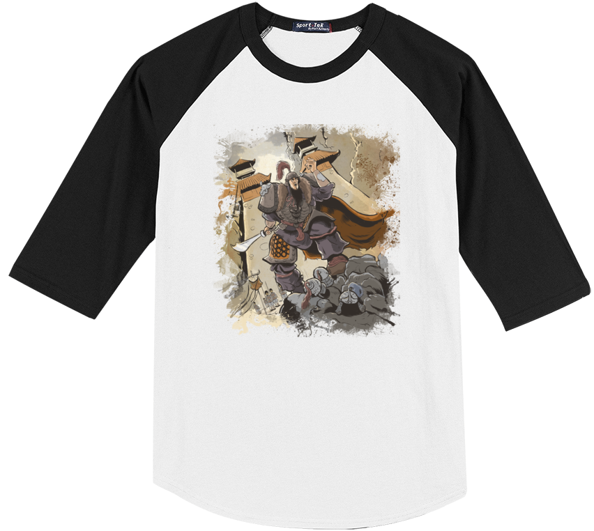 Conquest of the Three Kingdoms: Hua Xiong Baseball Tee