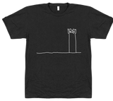 The Derp Tower T-Shirt - White