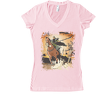 Conquest of the Three Kingdoms: Guan Yu Women's V-Neck