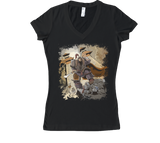 Conquest of the Three Kingdoms: Hua Xiong Women's V-Neck