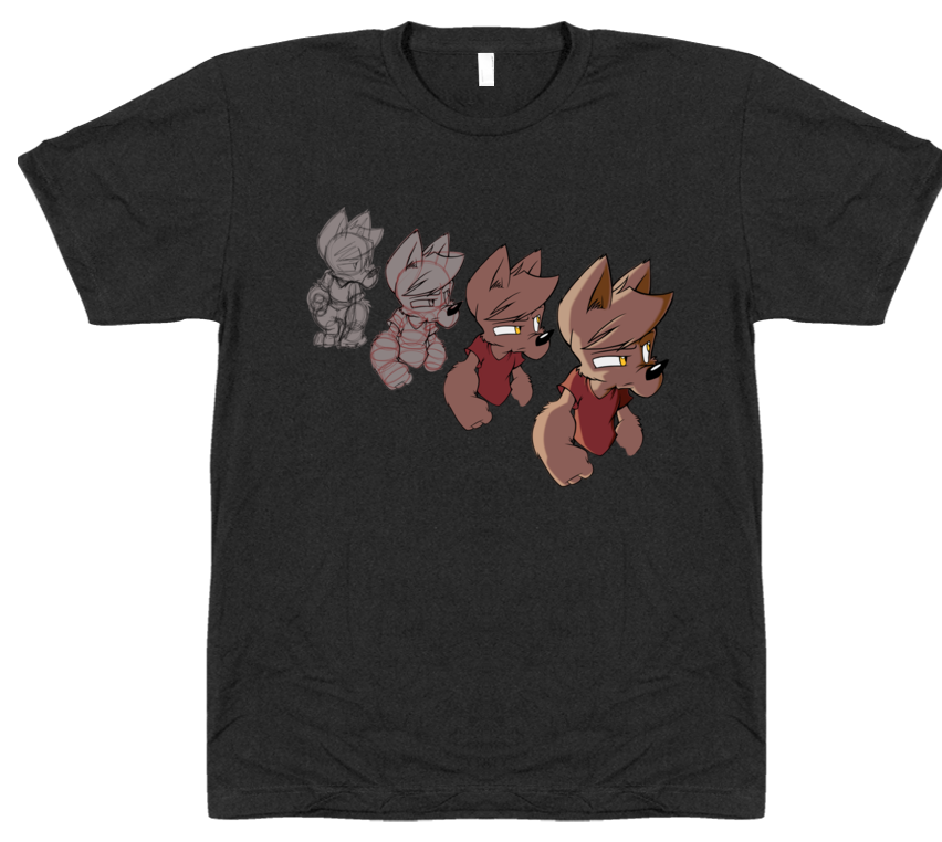 Wolfy Progression T-Shirt