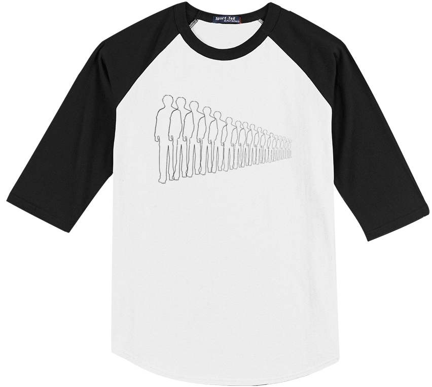 Vanishing People Baseball Tee