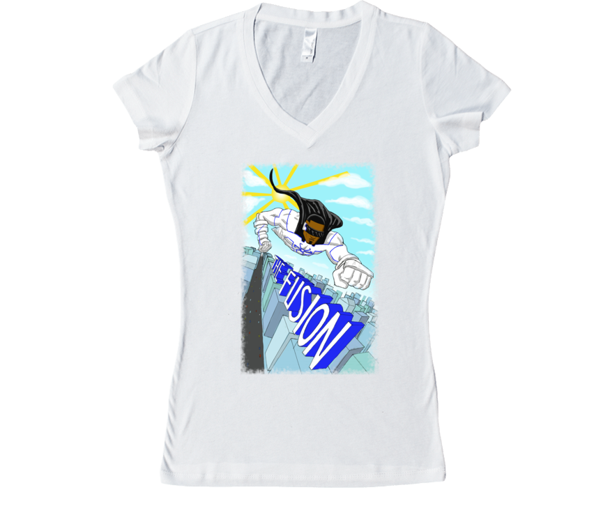 The Fusion - Hero of the Sky Women's V-Neck