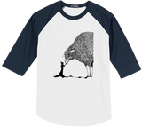 Sheep & The Witch Baseball Tee