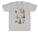 Dogs - Shapes and Sizes T-Shirt