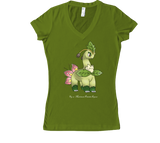 Florabeast Women's V-Neck