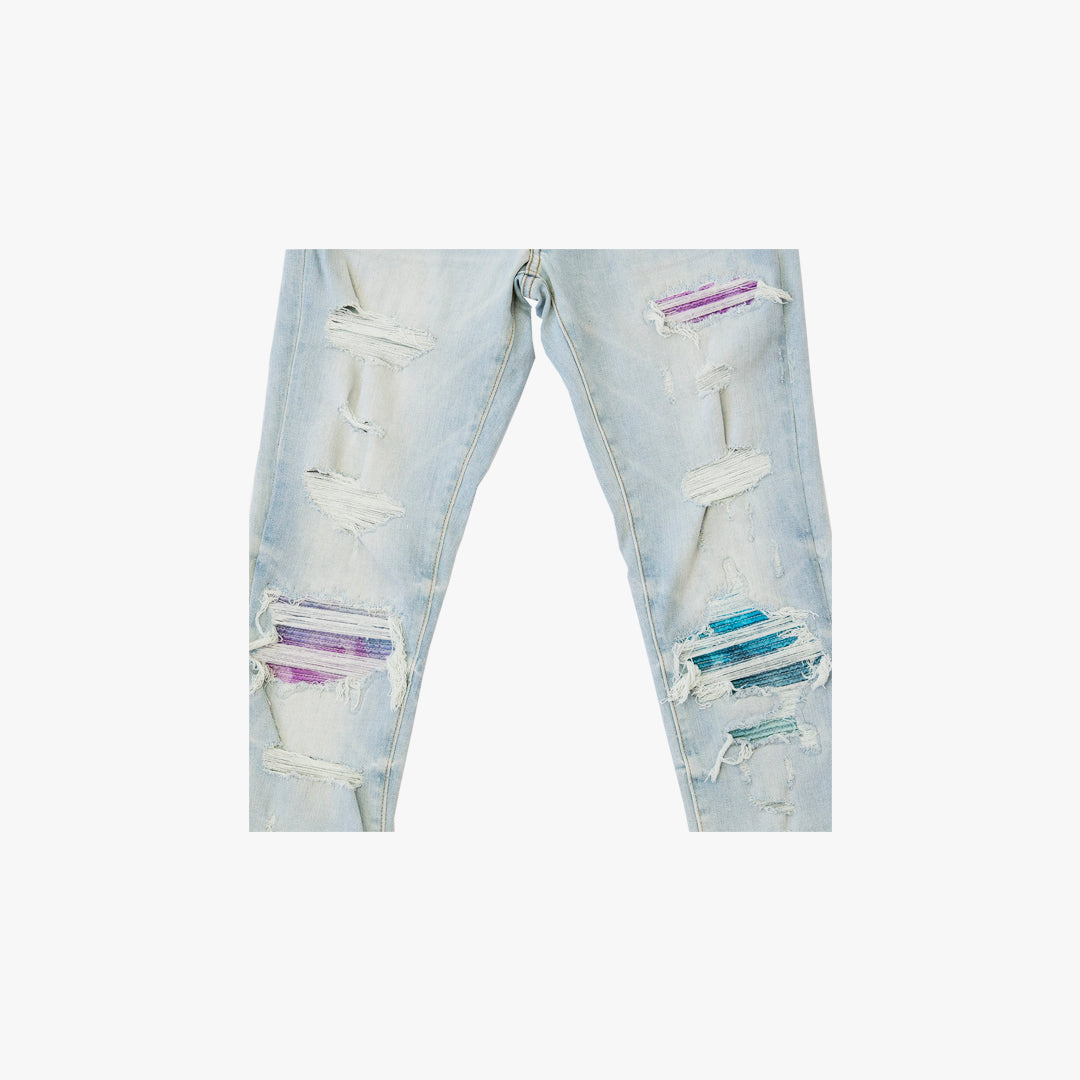 PLEATED WATERCOLOR ANIMATION JEAN