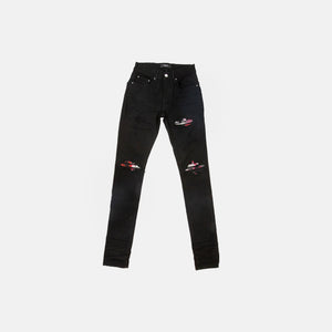 MX1 WATERCOLOR PLAID JEAN