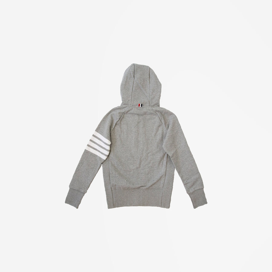 FOUR BAR ZIP UP HOODIE
