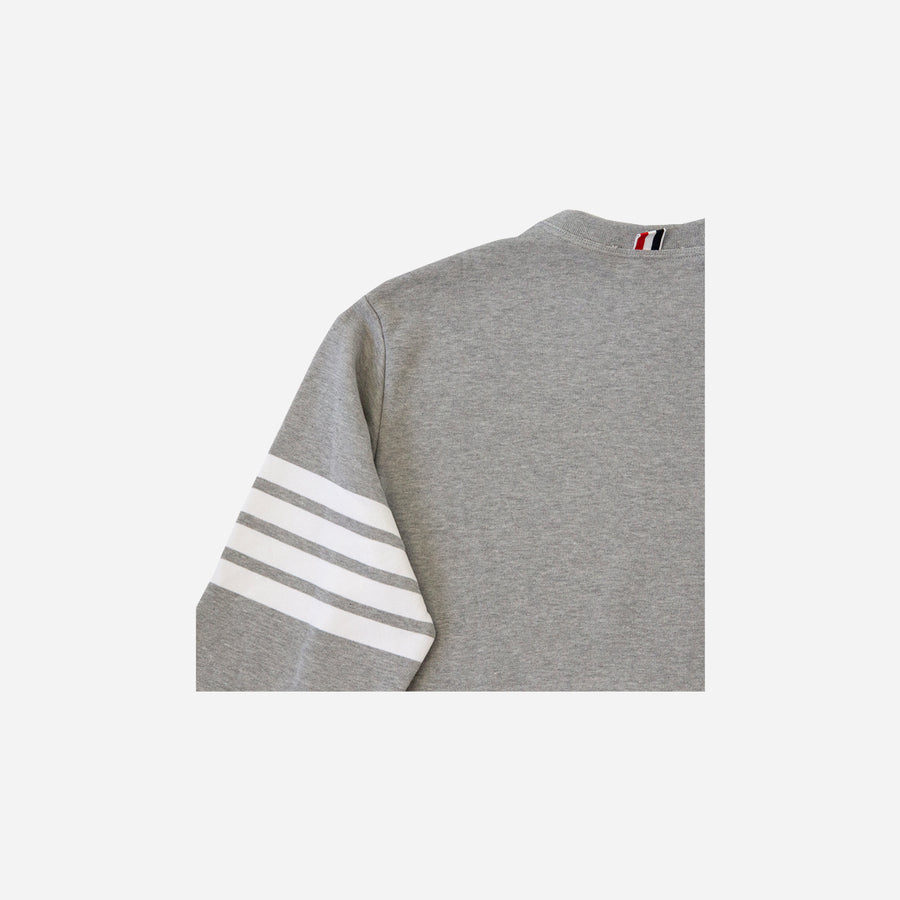 FOUR BAR CREW NECK SWEATSHIRT