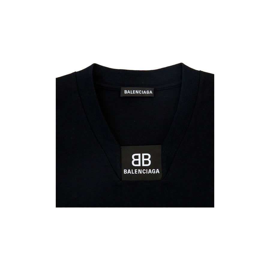 LOGO TEE IN BLACK