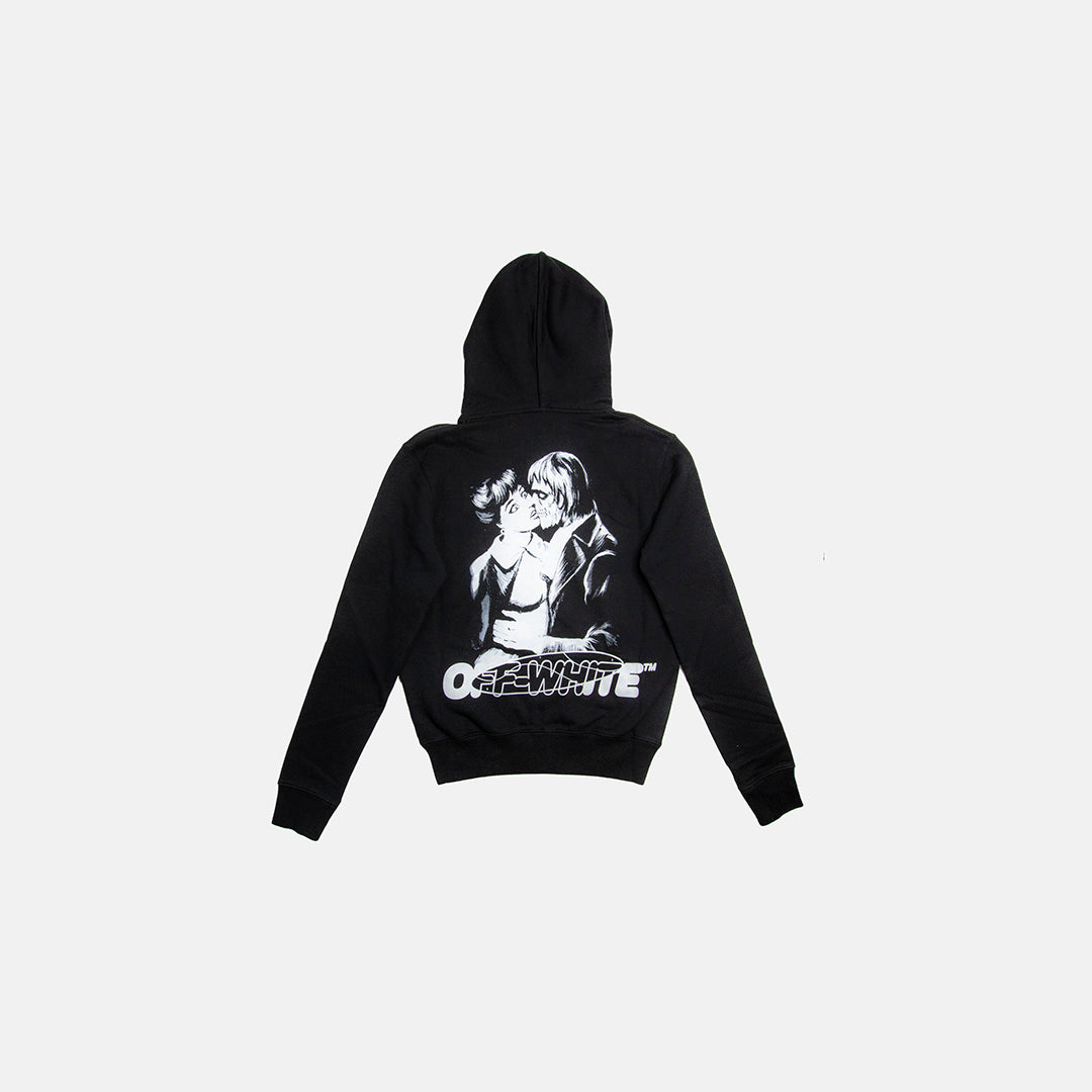 KISS 21 SLIM ZIP UP HOODIE