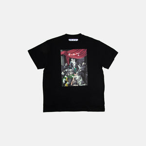 CARAVAGGIO PAINTING SHORT SLEEVE OVERSIZE TEE