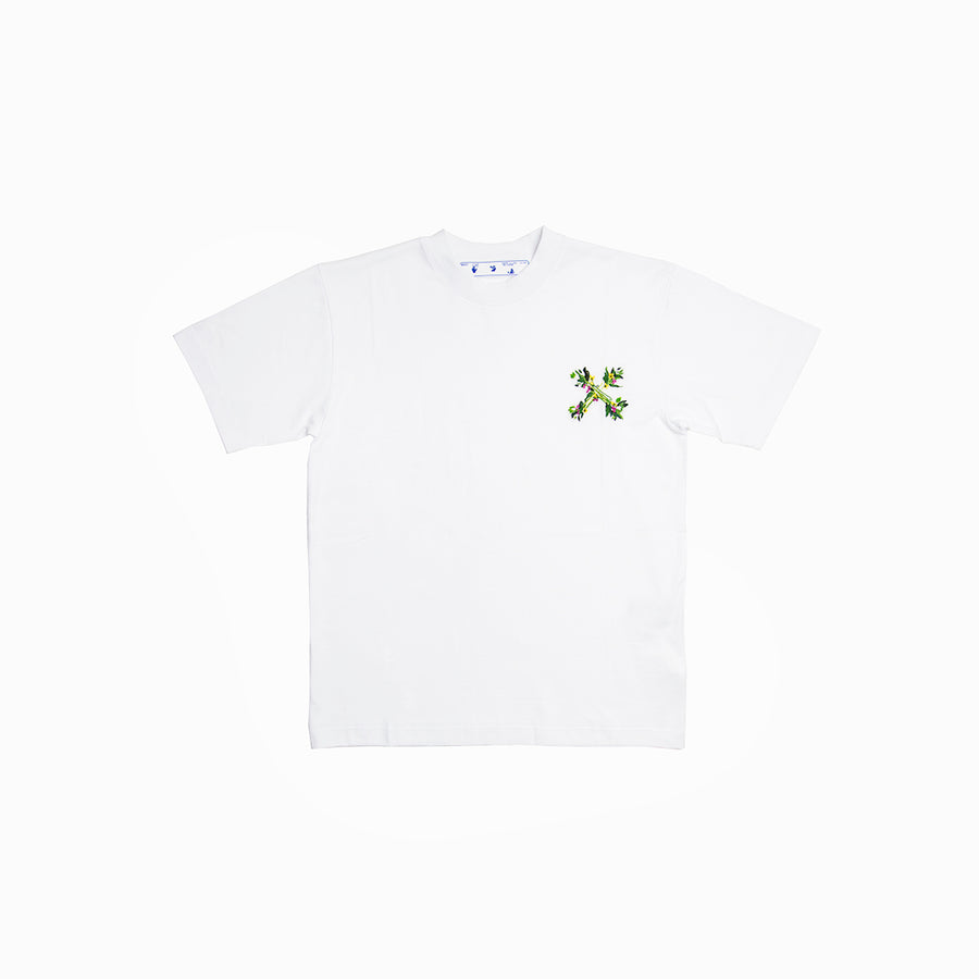 EMBROIDERED MINI ARROW TEE